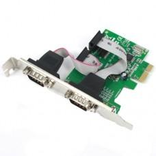 Карта PCI-Е към Serial port, No brand - 17555