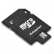 Карта памет No brand microSDHC 8GB, Class 4 + Адаптер - 62022