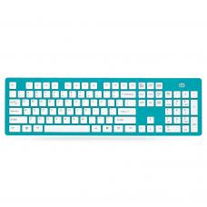 Клавиатура D K3, Безжична, Син - 6114