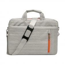 """Чанта за лаптоп No brand, 15.6"""", Сив - 45256"""
