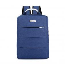 """Чанта за лаптоп No brand, 15.6"""", Син - 45273"""