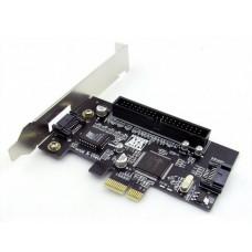 Платка PCI-E към IDE+SATA No brand -17475