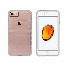 Протектор No brand за iPhone 7/7S, Силикон, Ultra thin, Сив - 51376