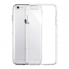 Протектор No brand за iPhone 6 Plus, Силикон, Ултра тънък 0,33мм, Прозрачен - 51096