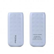 Преносима батерия, Remax Lovely, 5000mAh, Бял - 87024
