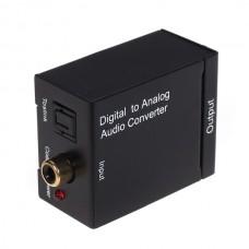 Дигитален аналогов аудио конвертор DT, Черен - 18225