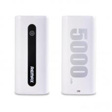 Преносима батерия Remax Proda, E5 PPL-15, 5000mAh, Бял - 87032