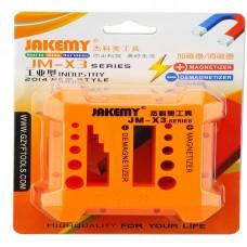 Магнетизатор / Демагнетизатор за отвертки, Jakemy X3, Оранжев - 17603