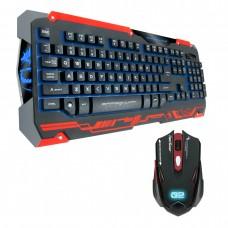 Гейминг комплект мишка и клавиатура, Dragon War, Sencari, GKM-001, Черен – 6093