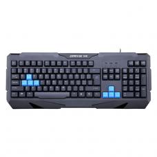 Геймърска клавиатура, ZornWee Resident Evil, USB, Черен - 6072