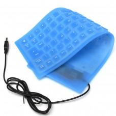 Клавиатура, No brand, Силиконова, USB, Различни цветове - 6100