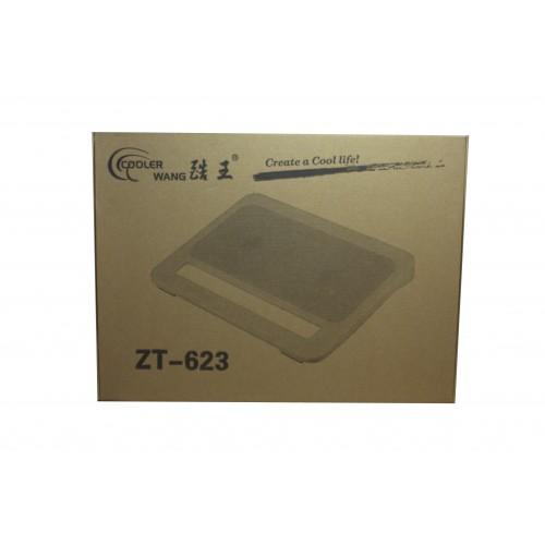 Охладител за лаптоп No brand, 15-17'', USB, Черен - 15008