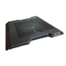 "Охладител за лаптоп No brand, 12-15"", 2xUSB, Черен - 15047"